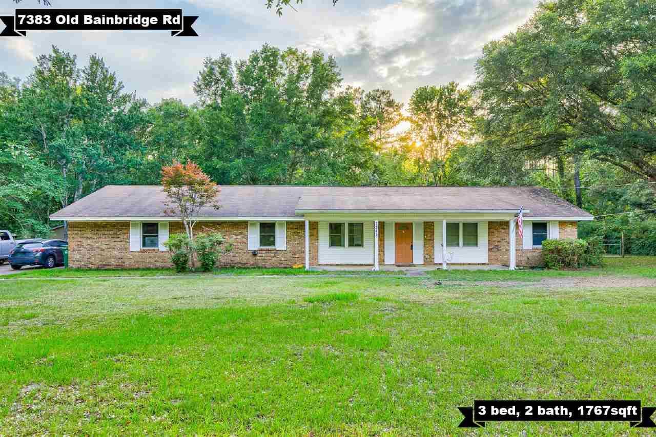 7383 Old Bainbridge Road, Tallahassee, FL 32303 - MLS#: 333109