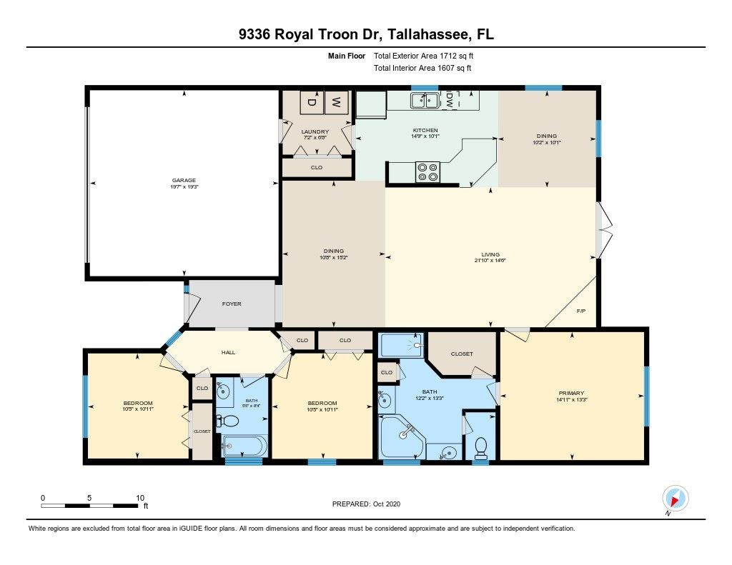 Photo of 9336 Royal Troon Drive, TALLAHASSEE, FL 32312 (MLS # 325125)