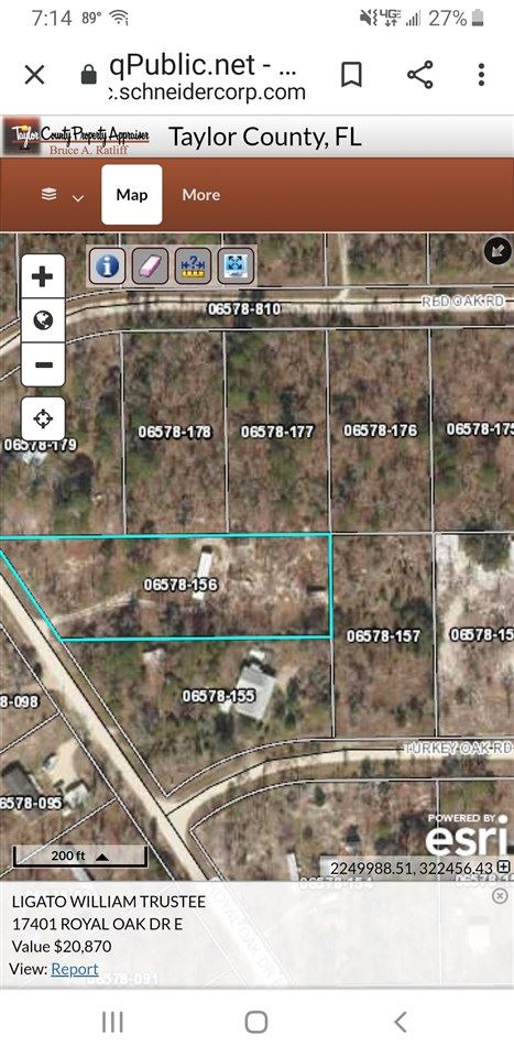 17401 E ROYAL OAK, Perry, FL 32348 - MLS#: 323137