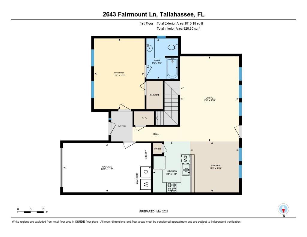 Photo of 2643 Fairmount Lane, TALLAHASSEE, FL 32308 (MLS # 329201)