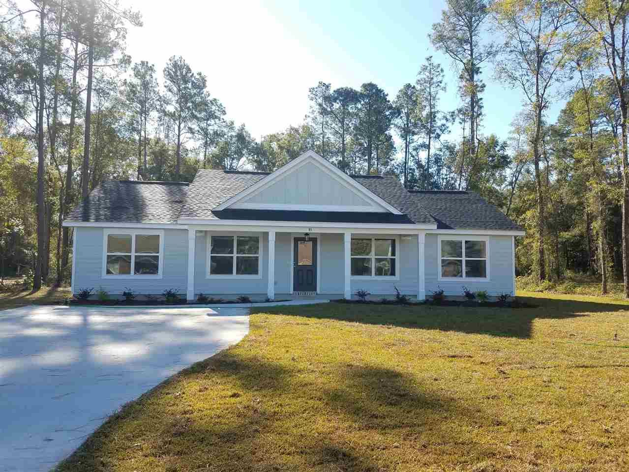 4 Lee Street, Crawfordville, FL 32327 - MLS#: 328207