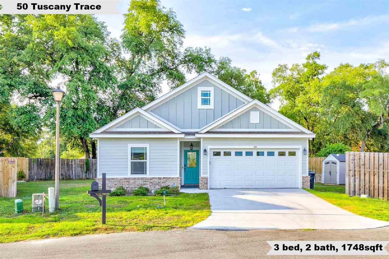 50 Tuscany Trace, Crawfordville, FL 32327 - MLS#: 333277