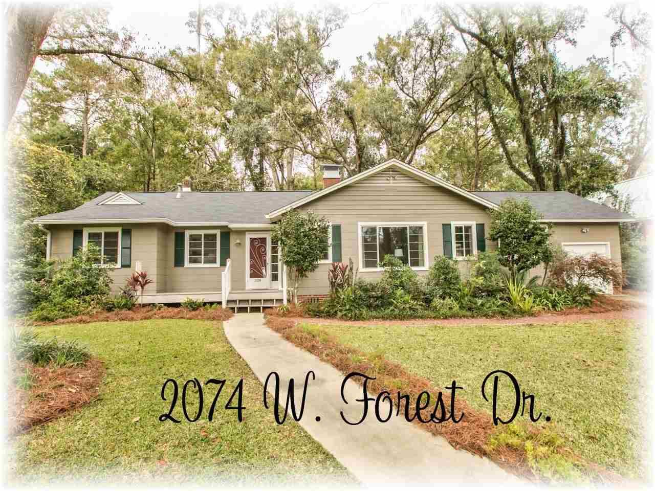 Photo for 2074 W FOREST DRIVE, TALLAHASSEE, FL 32303 (MLS # 313308)