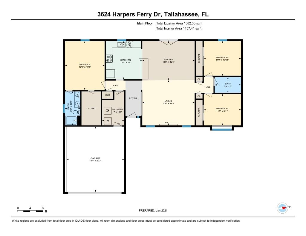 Photo of 3624 Harpers Ferry Drive, TALLAHASSEE, FL 32308 (MLS # 327386)