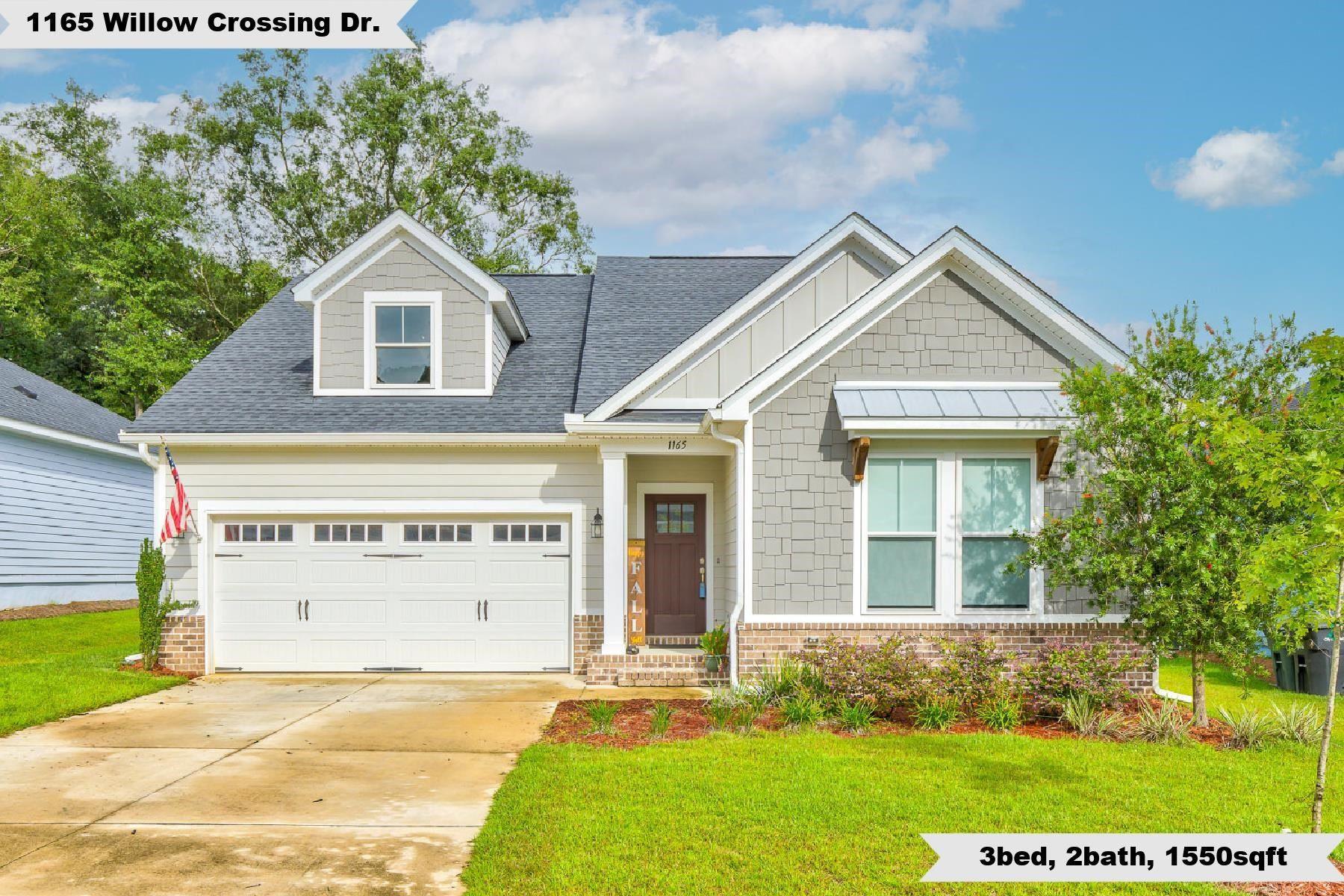 1165 Willow Crossing Drive, Tallahassee, FL 32311 - MLS#: 337454