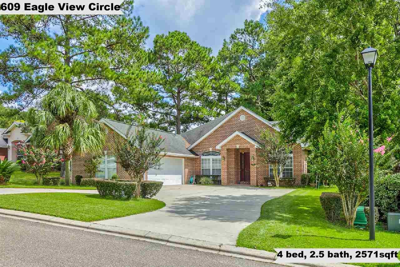 609 Eagle View Circle, Tallahassee, FL 32311 - MLS#: 323492