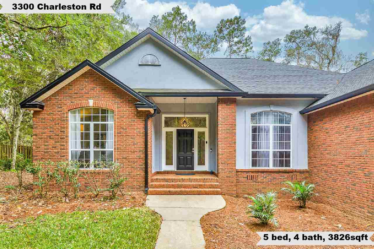 3300 Charleston Road, Tallahassee, FL 32309 - MLS#: 325561