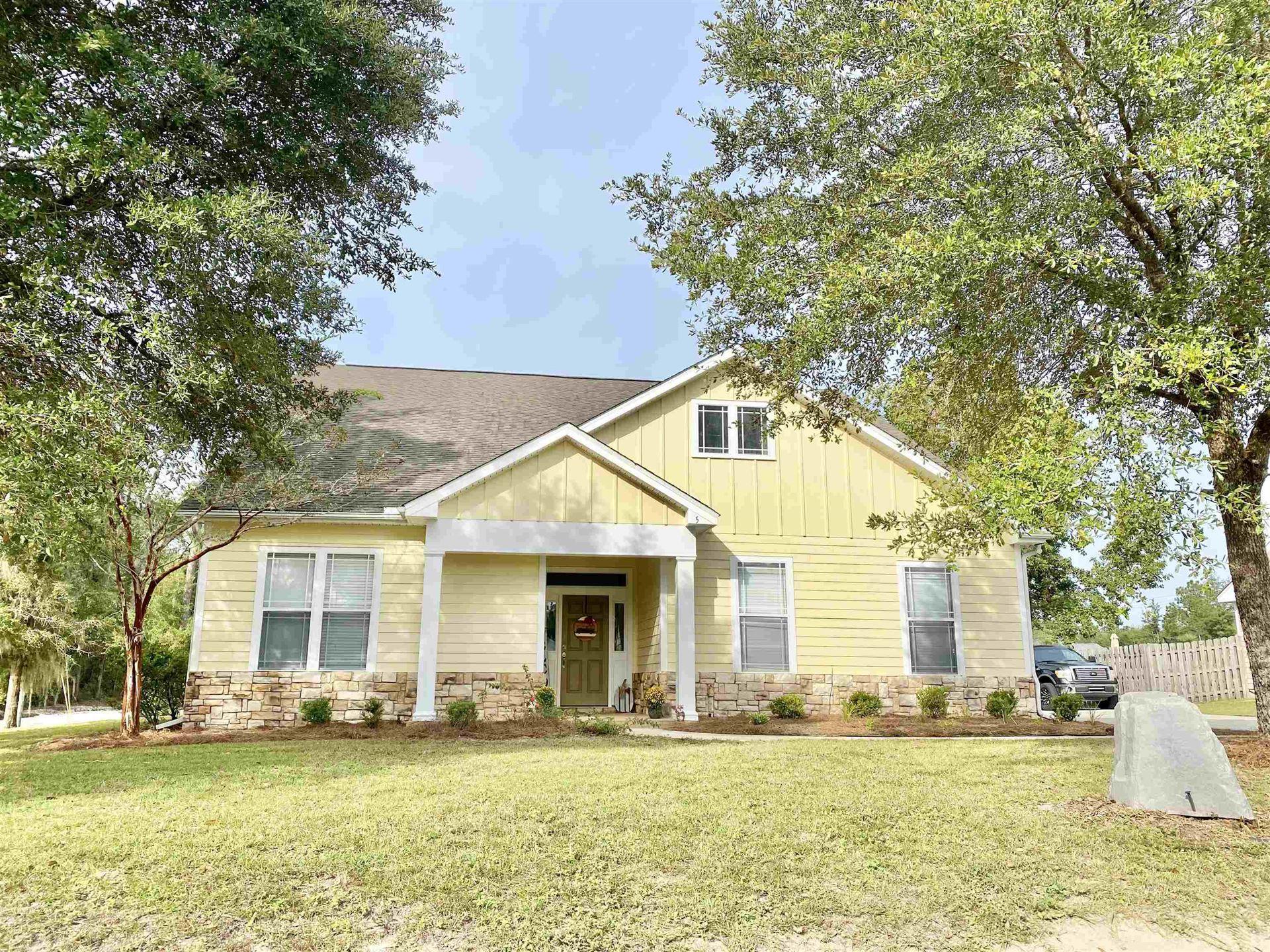 5 Savannah Forest Circle, Crawfordville, FL 32327 - MLS#: 338597