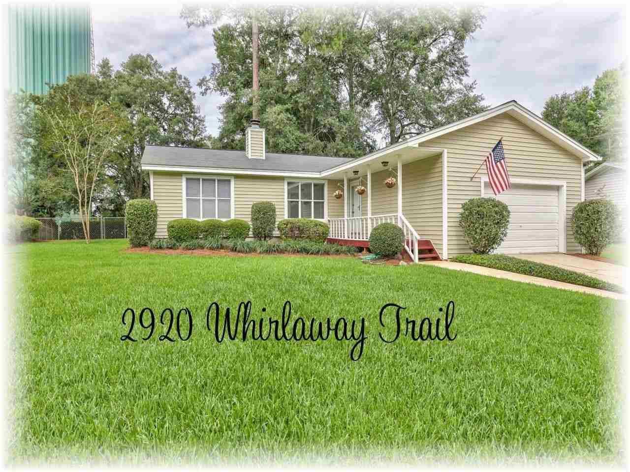 2920 Whirlaway Trail, Tallahassee, FL 32309 - MLS#: 334615