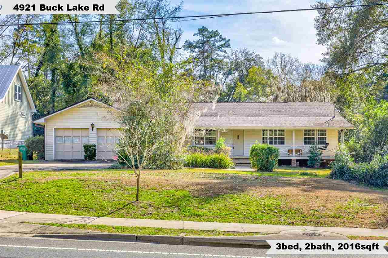 4921 Buck Lake Road, Tallahassee, FL 32317 - MLS#: 327626