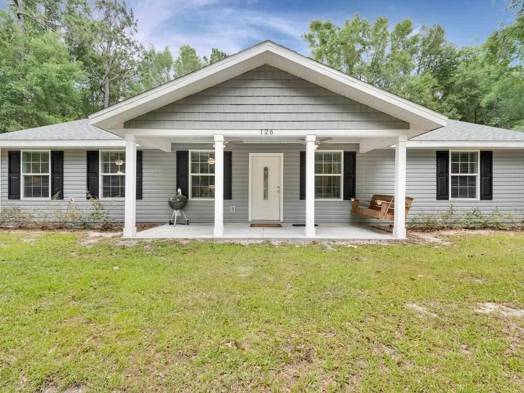 126 NE GOLDEN RAIN Terrace, Lee, FL 32059 - MLS#: 332640