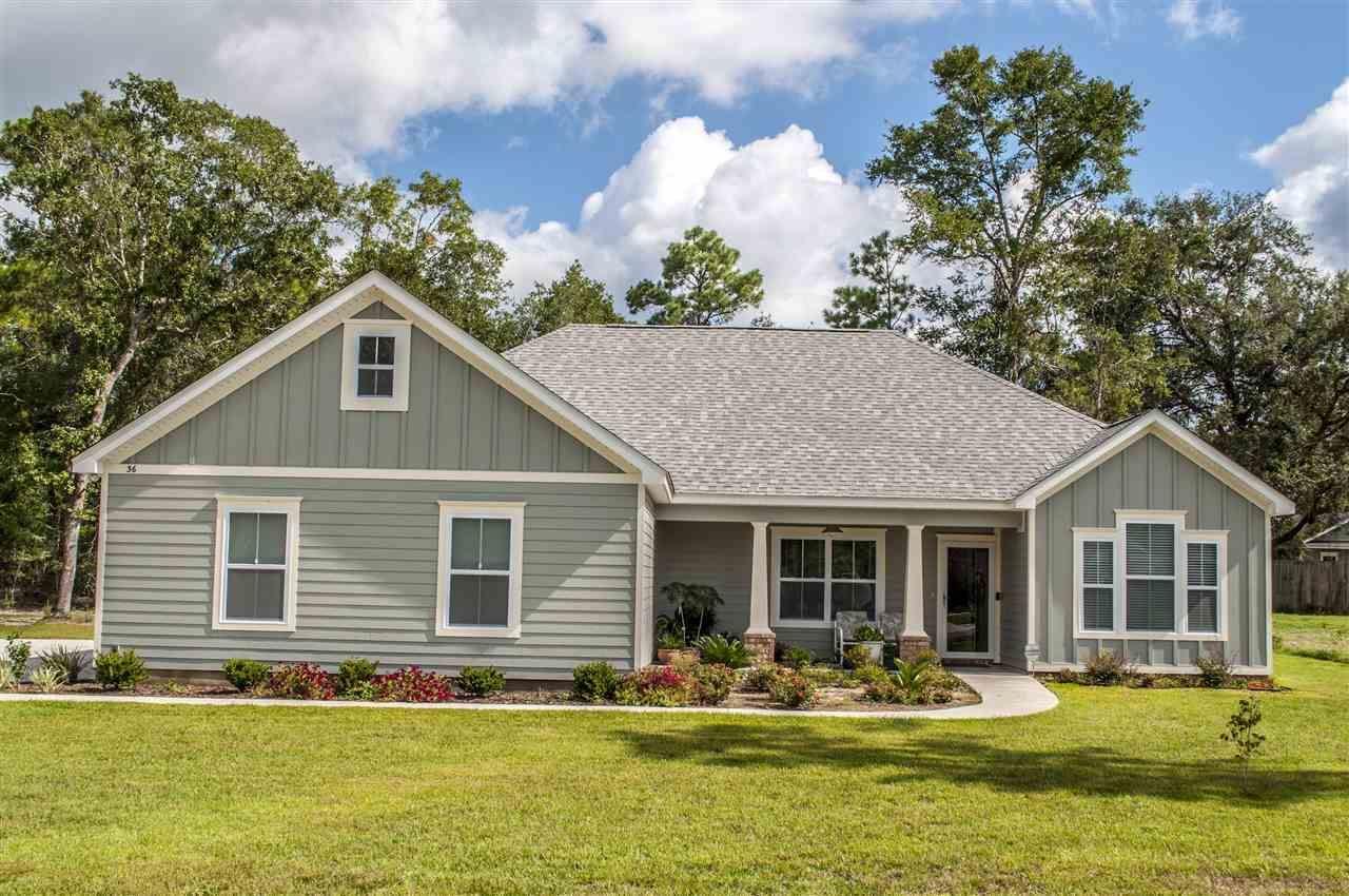 36 Evergreen Drive, Crawfordville, FL 32327 - MLS#: 328657