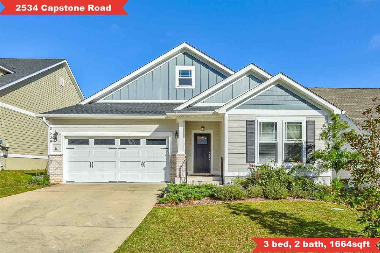 2534 Capstone Drive, Tallahassee, FL 32312 - MLS#: 325920