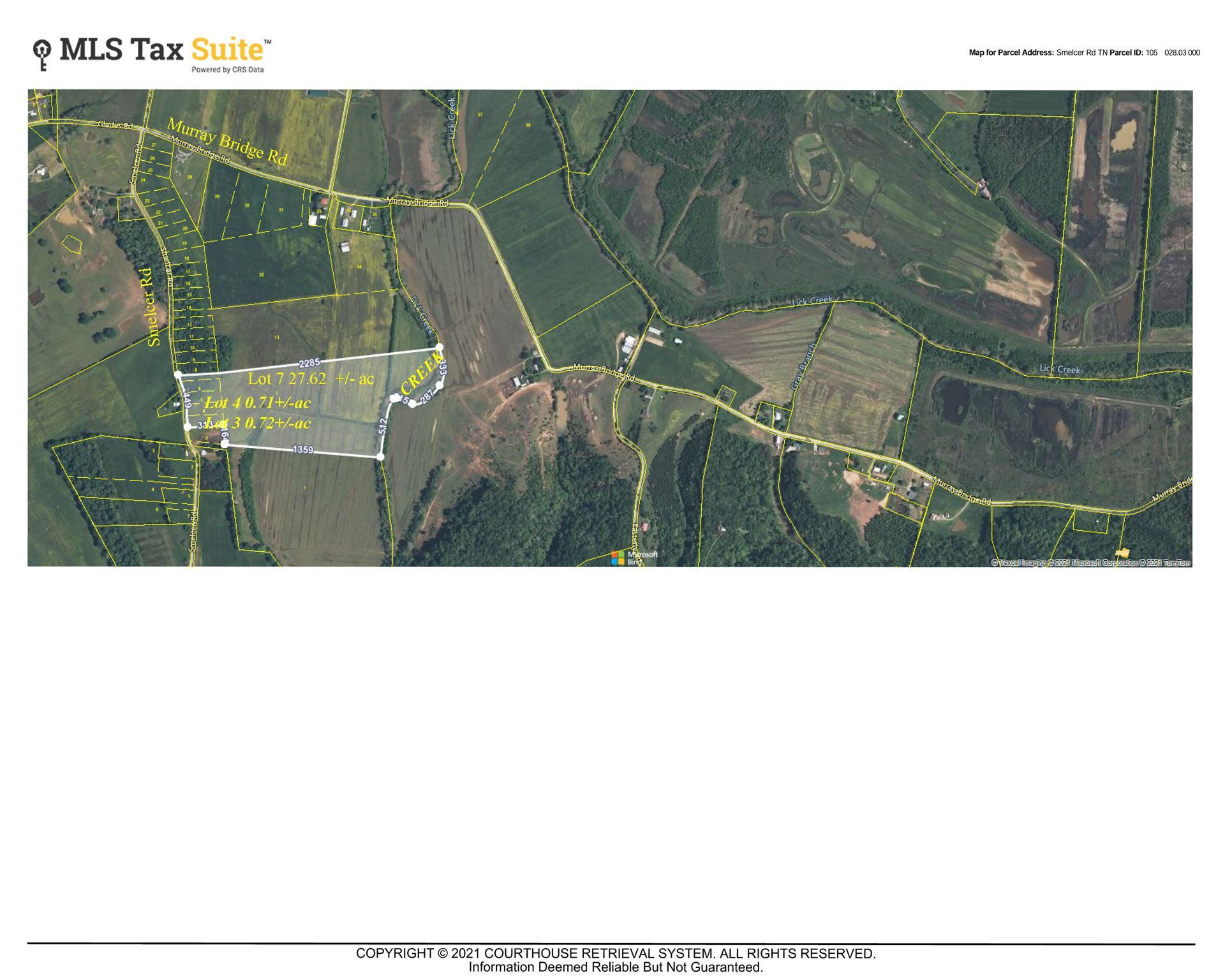 Photo of Lots 3,4&7 Smelcer Road, Mohawk, TN 37810 (MLS # 9921668)