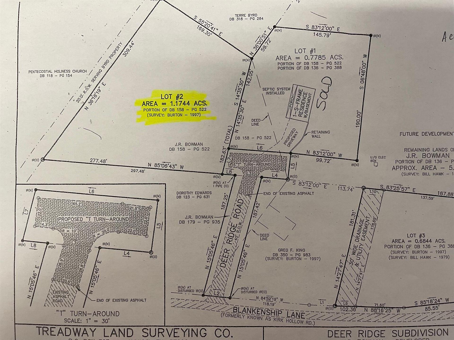 Photo of Lot 2 Deer Ridge Rd Road, Erwin, TN 37650 (MLS # 9927726)