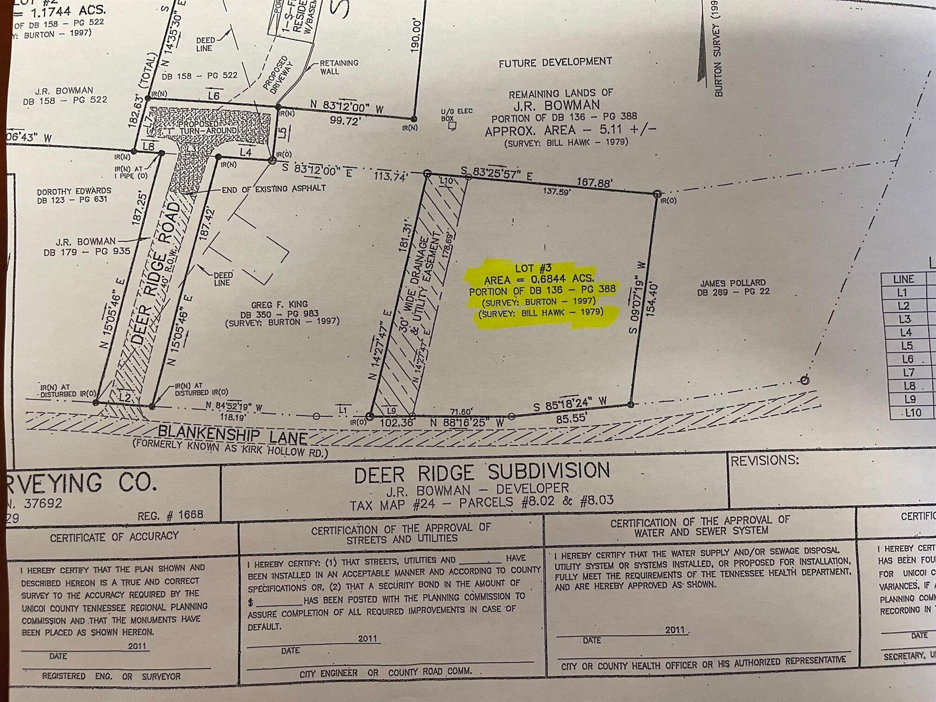 Photo of Lot 3 Blankenship Lane, Erwin, TN 37650 (MLS # 9927727)
