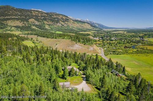 Photo of 6190 W HECK OF A HILL RD, Wilson, WY 83014 (MLS # 21-73)