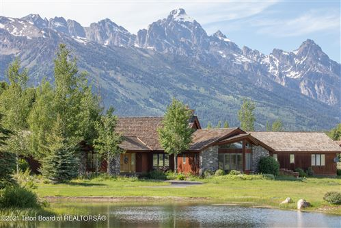 Photo of 9255 N AVALANCHE CANYON RD, Jackson, WY 83001 (MLS # 21-2140)