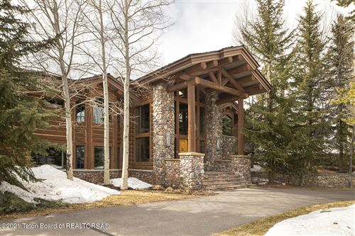 Photo of 1405 N GANNETT RD, Jackson, WY 83001 (MLS # 21-1150)