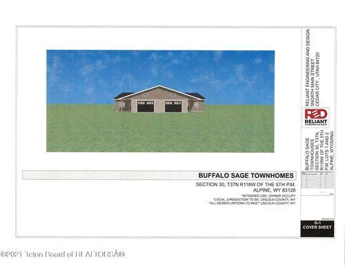 Photo of 3 BUFFALO SAGE TOWNHOM #3, Alpine, WY 83128 (MLS # 21-3235)