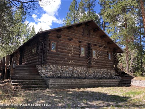 Photo of 8870 E TIMBER LN, Jackson, WY 83001 (MLS # 21-2257)