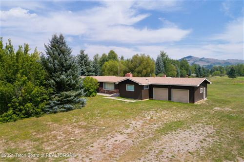 Photo of 3270 N MOOSE WILSON RD, Jackson, WY 83001 (MLS # 21-1268)