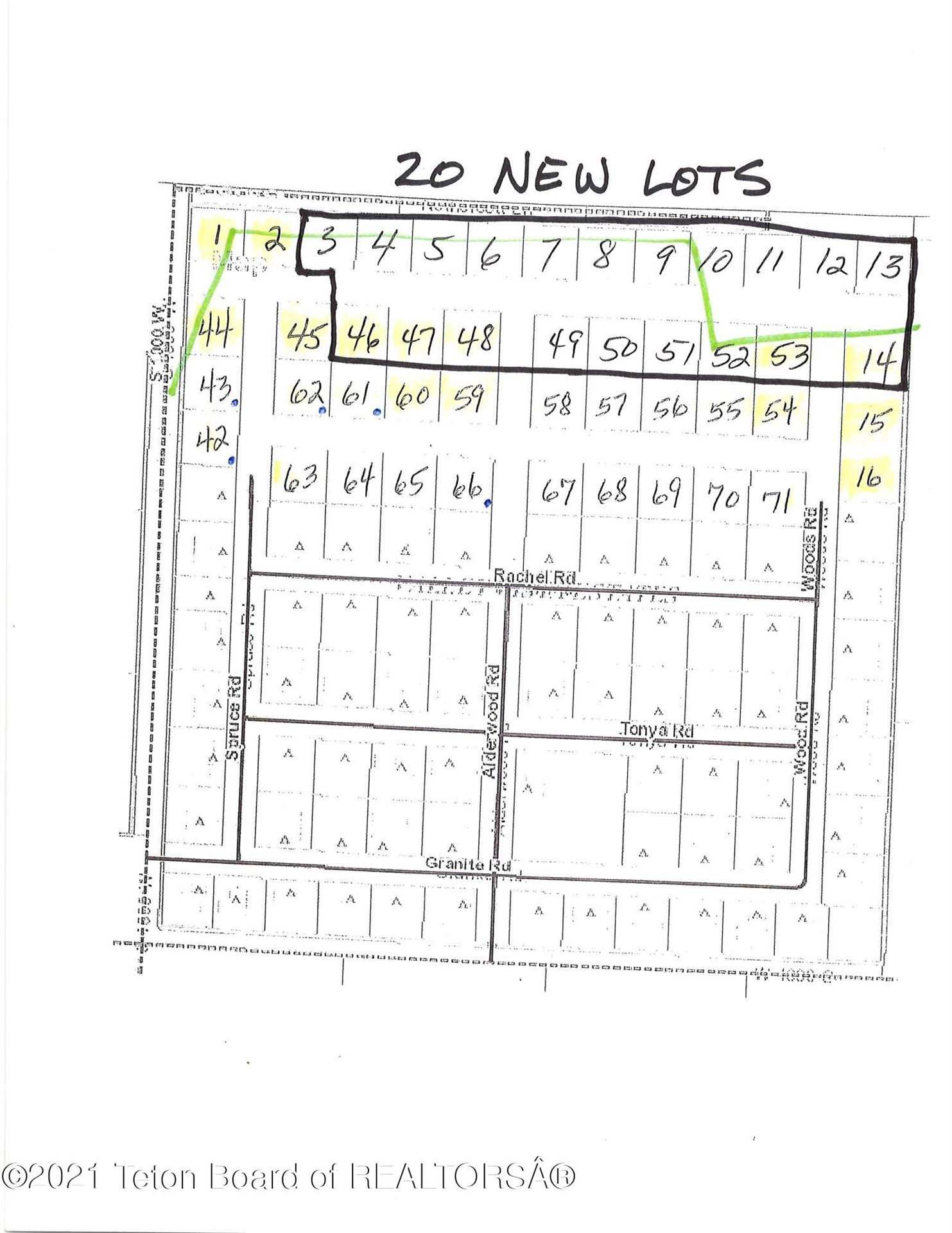 Photo for 845 STONE CROP RD RD, Victor, ID 83455 (MLS # 21-3562)