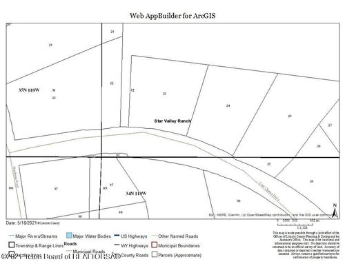 Photo of LAST CHANCE, Star Valley Ranch, WY 83127 (MLS # 21-1583)