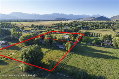 Photo of 2030 2040 SOUTH PARK RANCH ROAD, Jackson, WY 83001 (MLS # 21-2889)