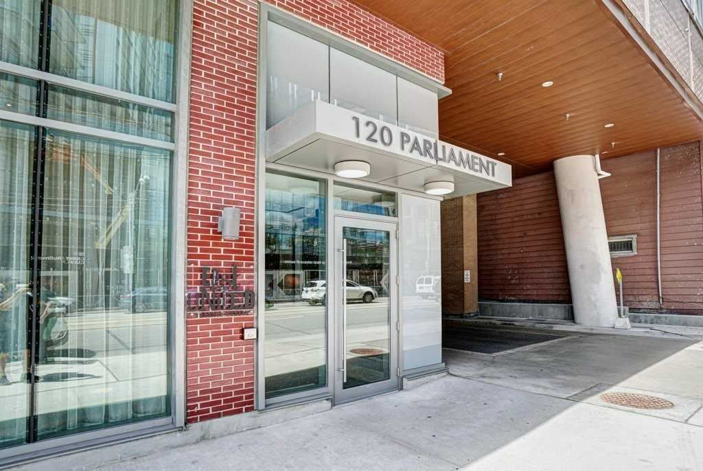 Photo of 120 Parliament St #1213, Toronto, ON M5A2Y8 (MLS # C5326191)