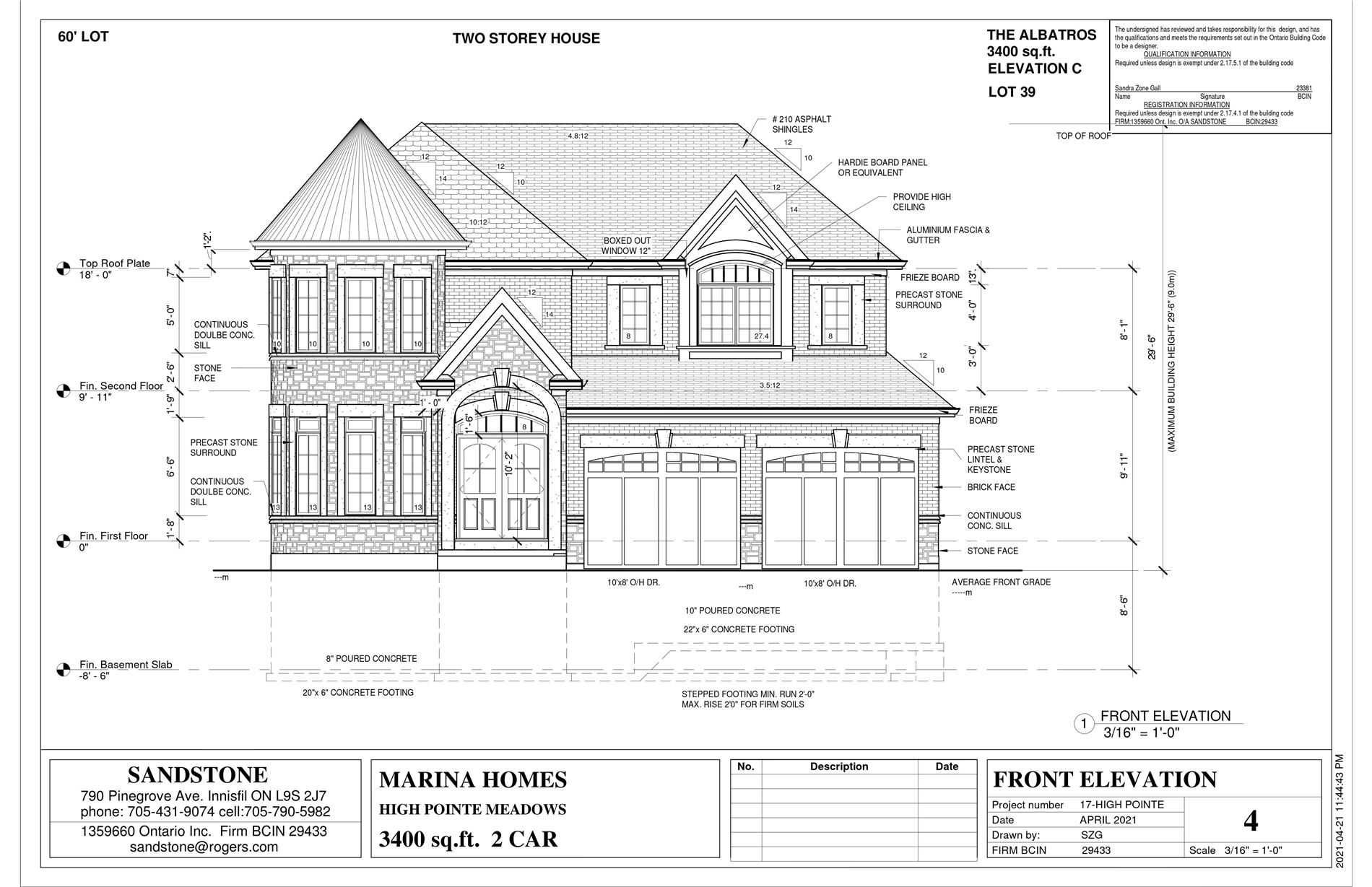 Lot 39 High Pointe, Fort Erie, ON L5A5P5 - MLS#: X5378326