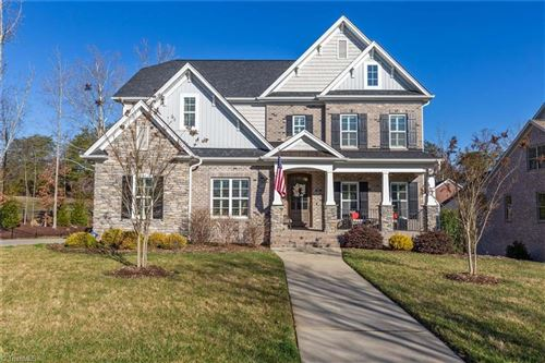 Photo of 5681 Mossbank Lane, Winston Salem, NC 27106 (MLS # 966018)