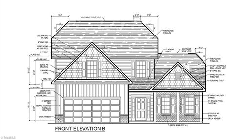 Photo of 8623 Stone Valley Drive, Clemmons, NC 27012 (MLS # 1007040)