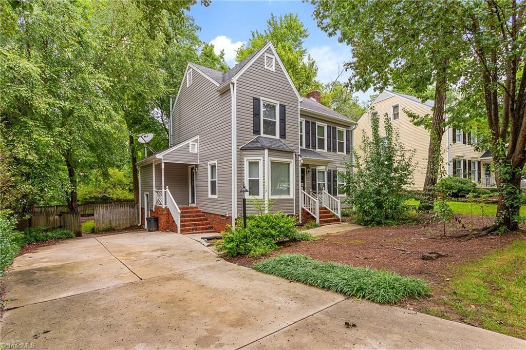 Photo of 5504 Cobble Glen Court, Greensboro, NC 27407 (MLS # 988631)