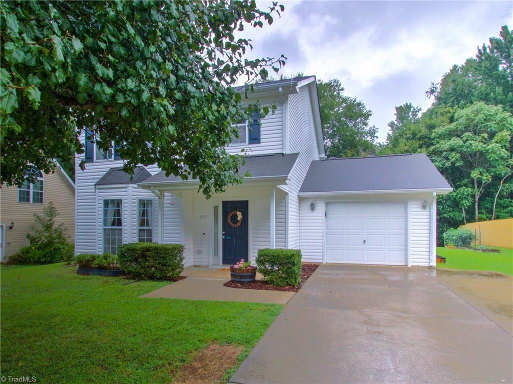 Photo of 553 Whistling Swan Drive, Greensboro, NC 27455 (MLS # 994960)