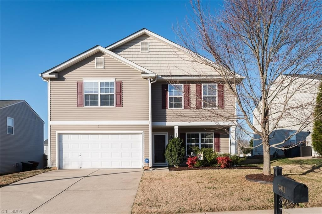 Photo of 3911 SE Whispering Willows Drive, Greensboro, NC 27406 (MLS # 962989)