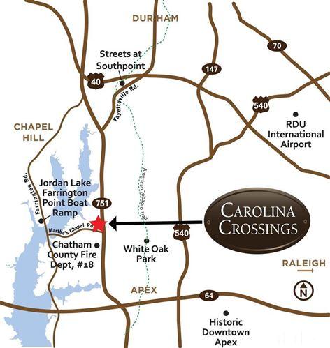 Photo of 282 Carolina Crossings Drive, Apex, NC 27523 (MLS # 2302014)