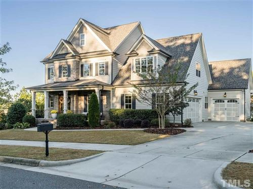 Photo of 216 Meares Bluff Lane, Holly Springs, NC 27540 (MLS # 2287029)