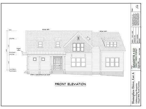 Photo of 715 Homeplace Drive, Chapel Hill, NC 27517 (MLS # 2411071)