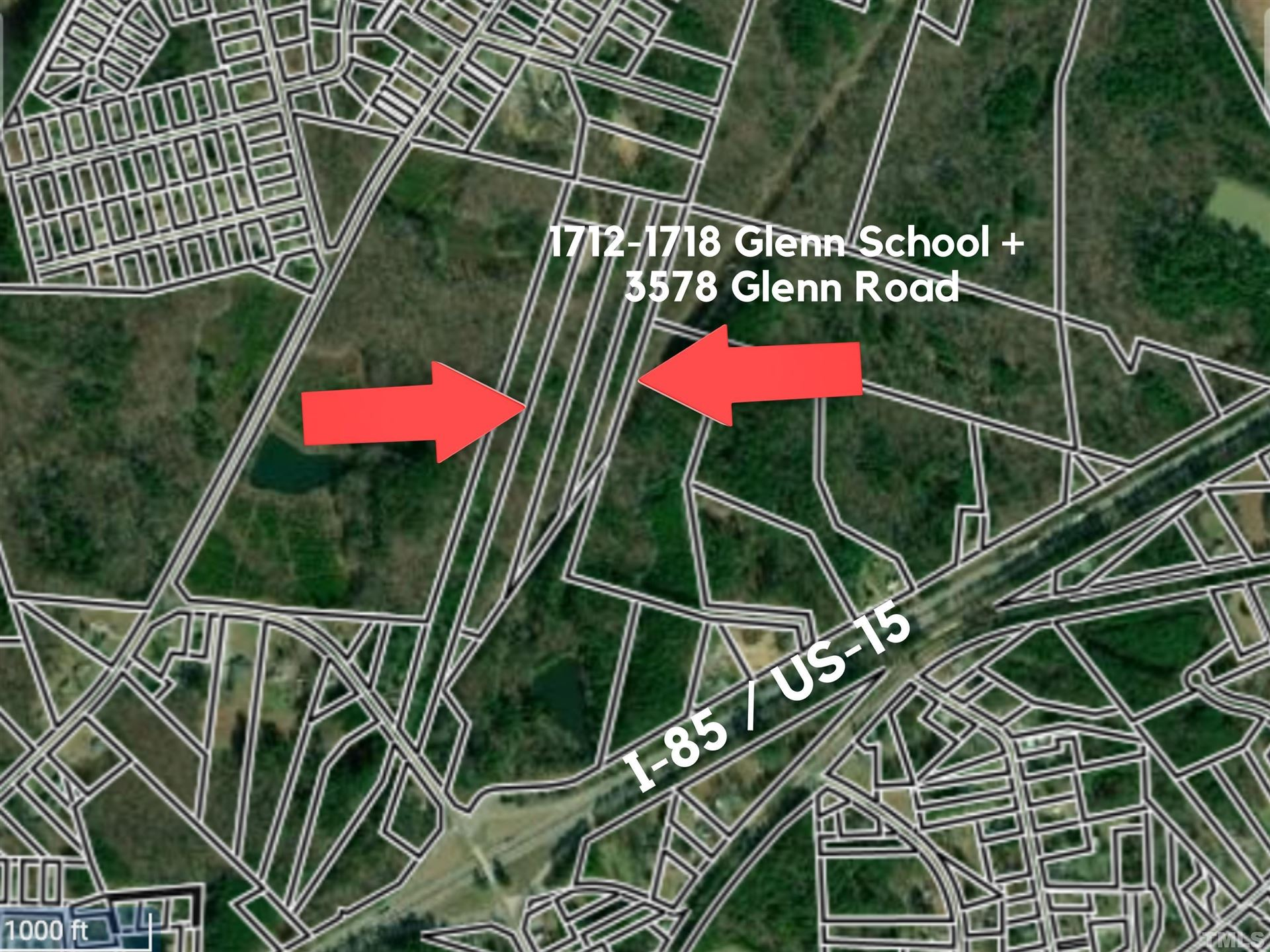 Photo of 1712-1718 Glenn School Road, Durham, NC 27704 (MLS # 2405114)