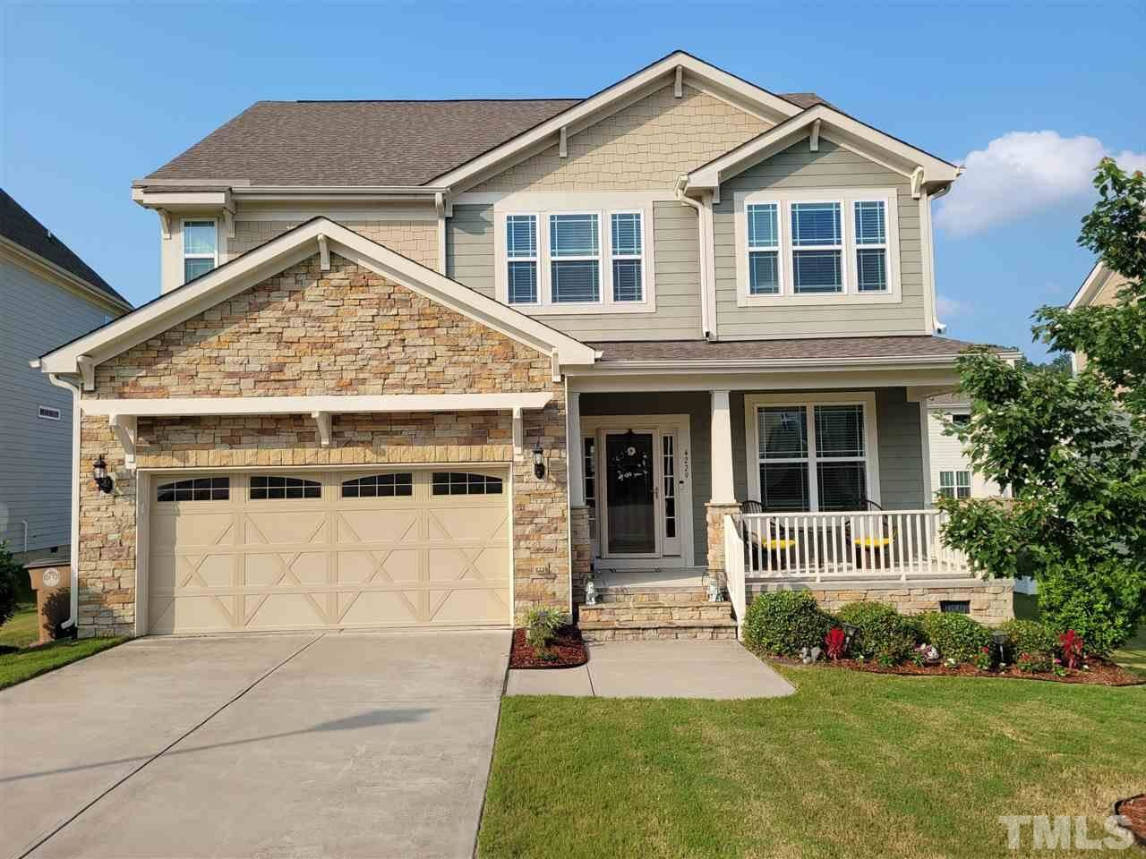 Photo of 4229 Sunset Falls Drive, Wake Forest, NC 27587-4312 (MLS # 2399234)
