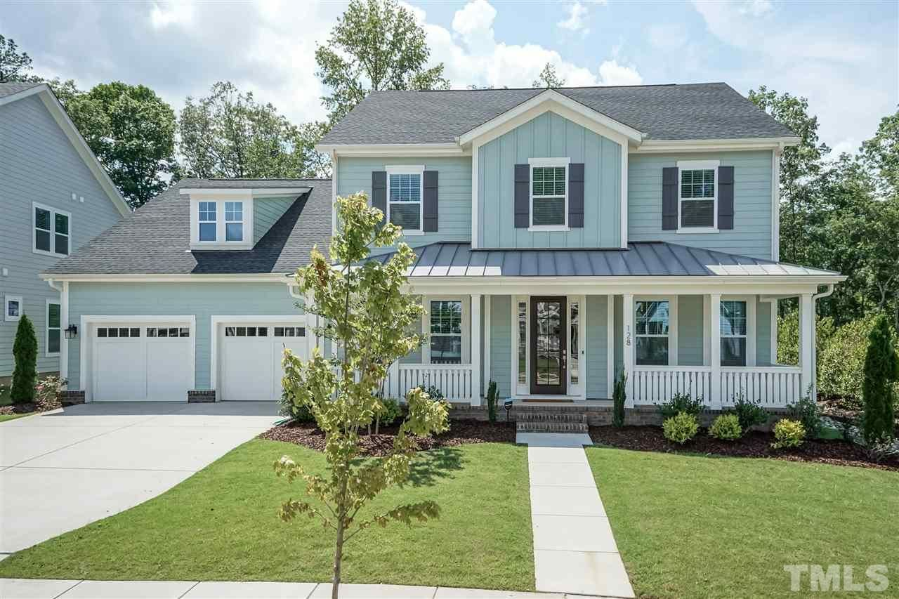 Photo of 128 Cedar Wren Lane, Holly Springs, NC 27540-6198 (MLS # 2328447)