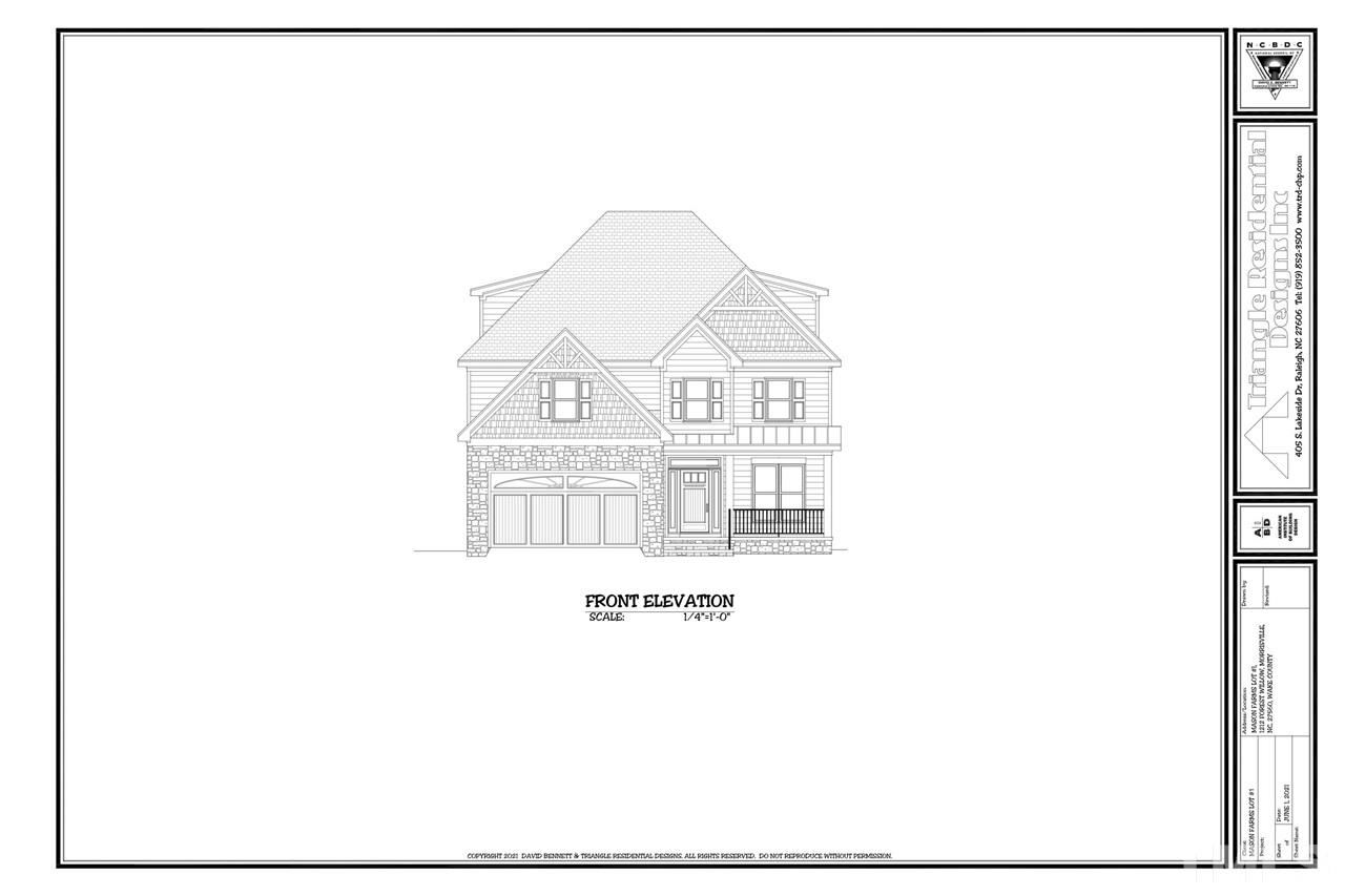 Photo of 1212 Forest Willow Lane, Morrisville, NC 27560 (MLS # 2381465)