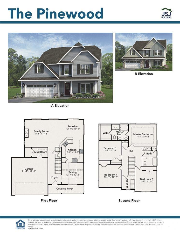 107 Caboose Lane #Lot 4 The Pinewood, Clayton, NC 27529 - MLS#: 2326469