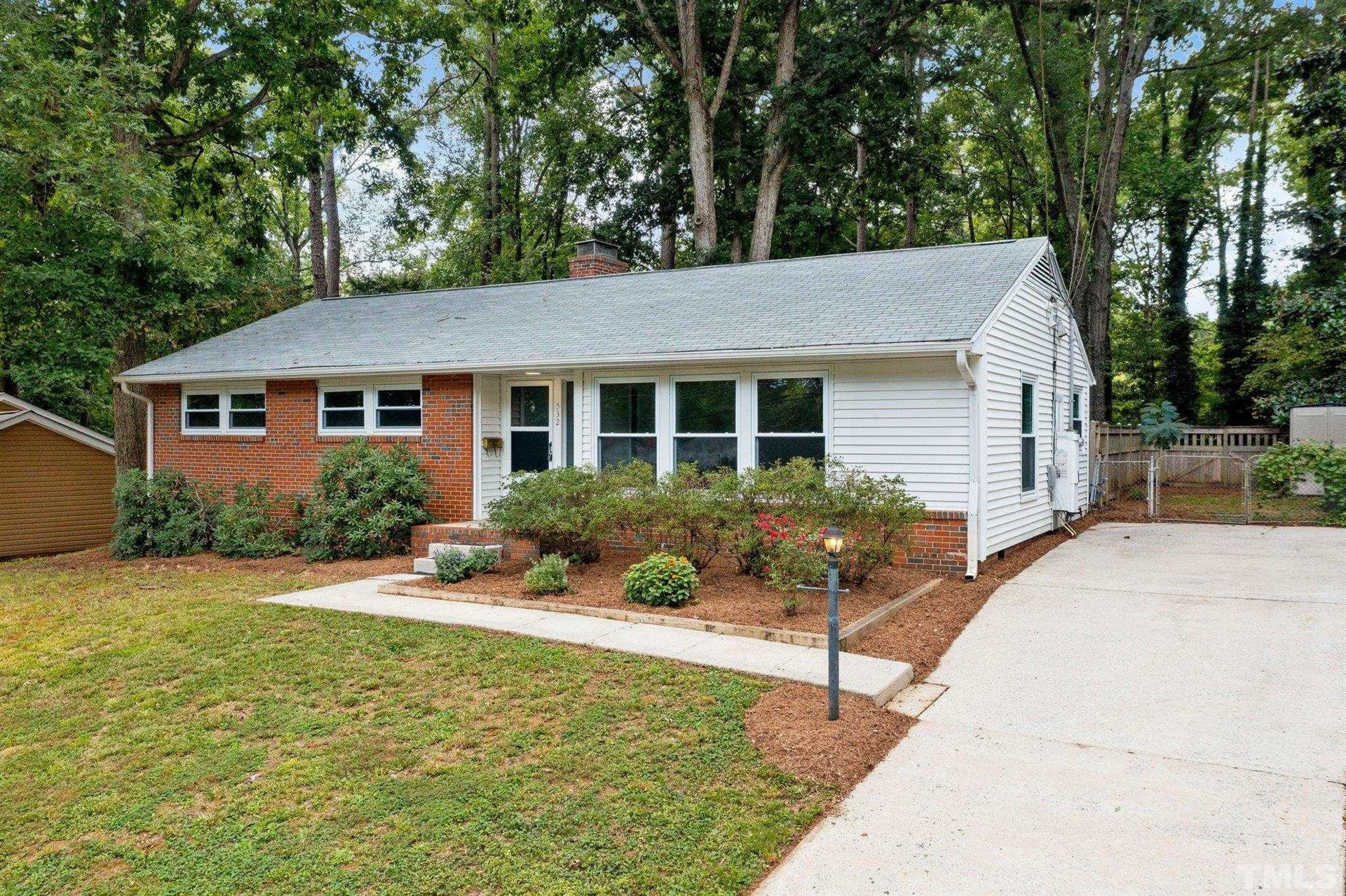 Photo of 532 Barksdale Drive, Raleigh, NC 27604 (MLS # 2407554)