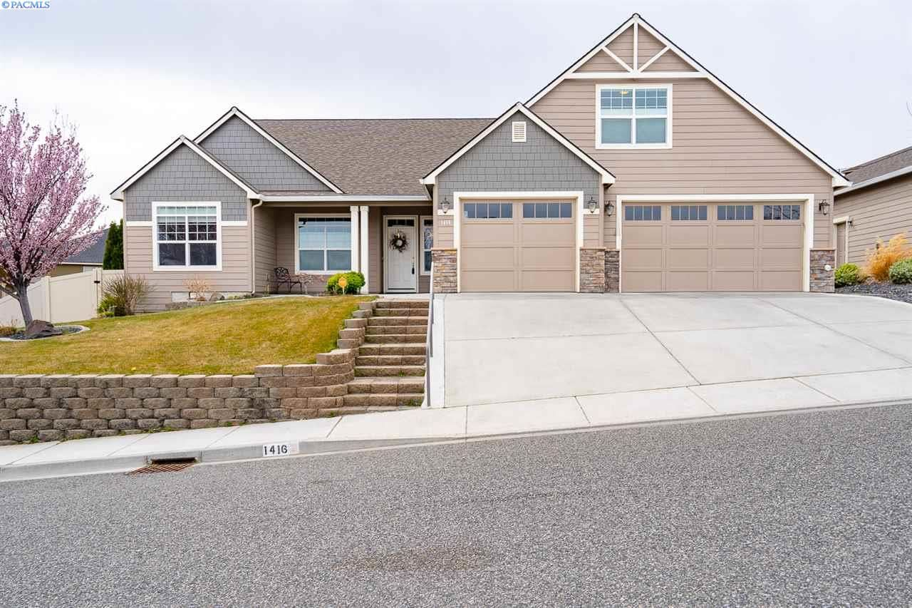1416 Badger Mountain Loop, Richland, WA 99352-9206 - #: 244282