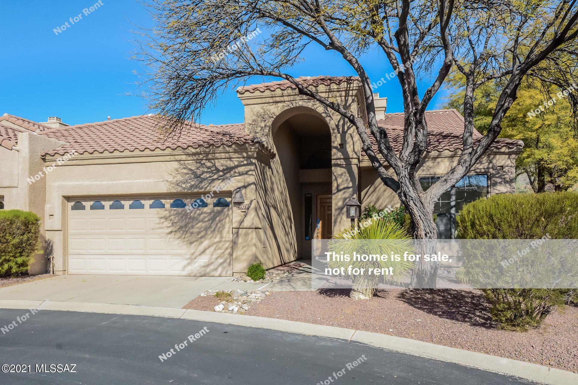 5978 N Golden Eagle Drive, Tucson, AZ 85750 - MLS#: 22101058
