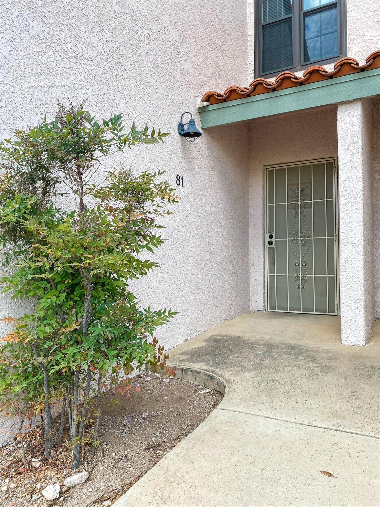 6510 N Tierra De Las Catalinas #81, Tucson, AZ 85718 - MLS#: 22016250