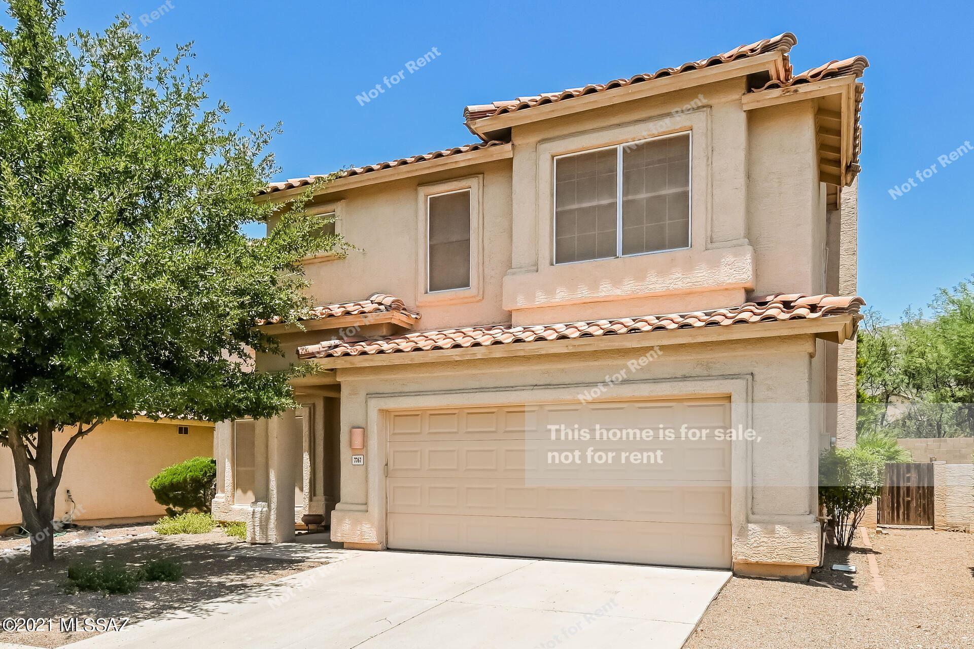 7767 E Castle Valley Way, Tucson, AZ 85750 - MLS#: 22116307
