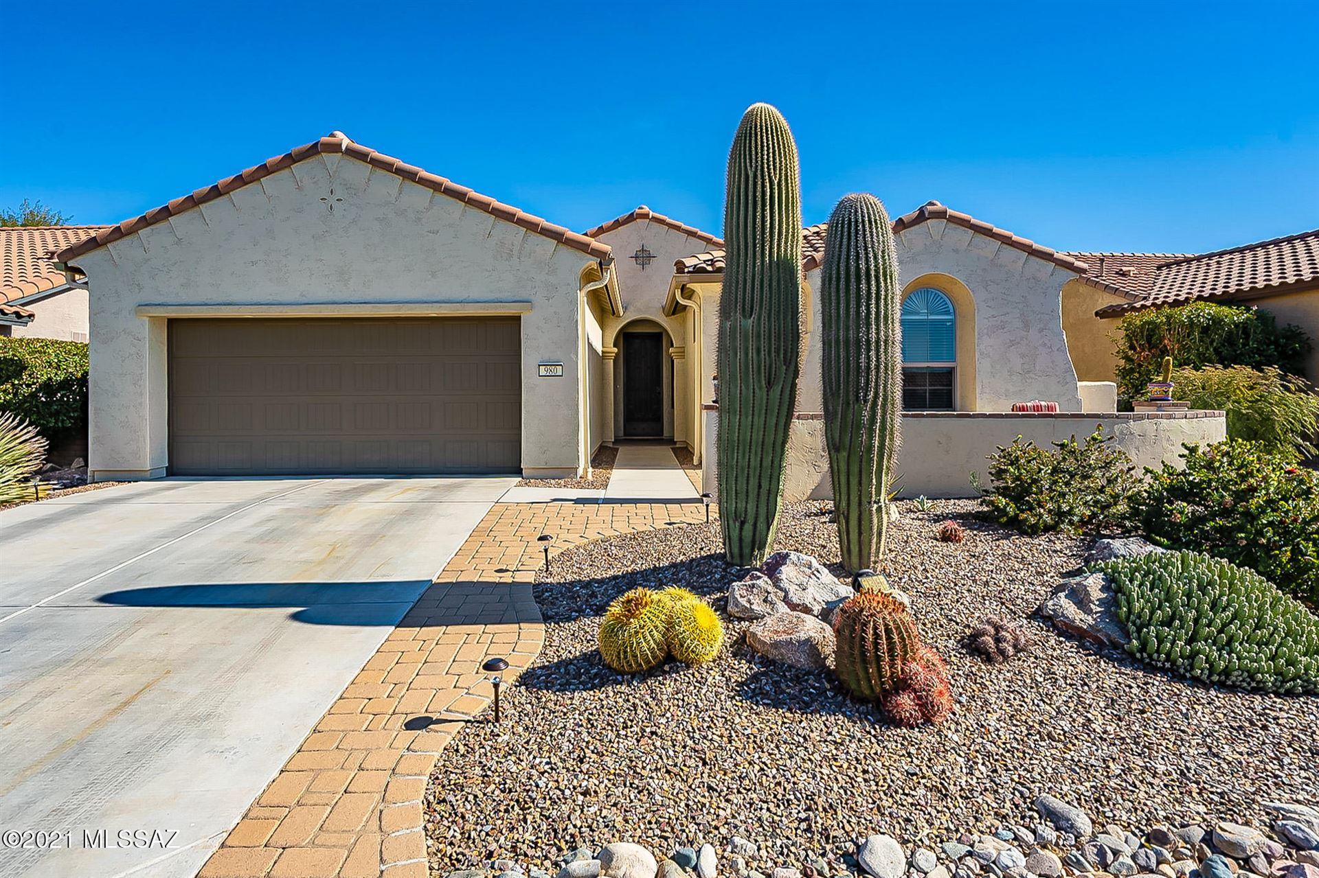 980 N Turquoise Vista Dr, Green Valley, AZ 85614 - MLS#: 22101318